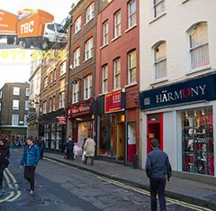 Three interesting facts about Soho